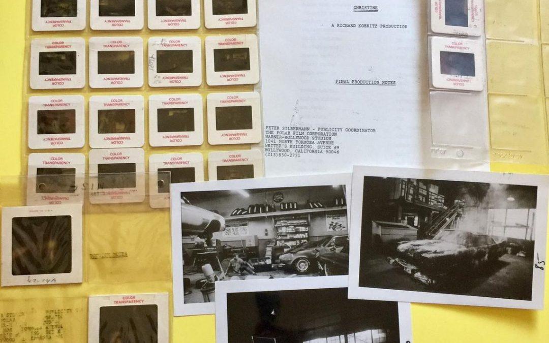 Original press material from John Carpenter's 1983 horror classic CHRISTINE