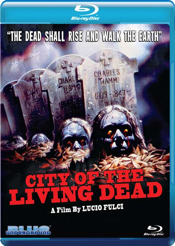 City of the Living Dead Blue Underground Blu-ray Disc