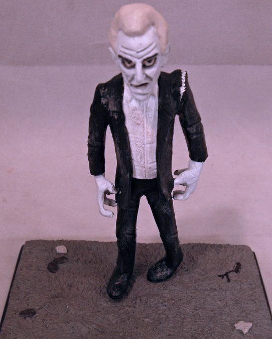 clay guy night of the living dead bill Hinzman cemetery zombie