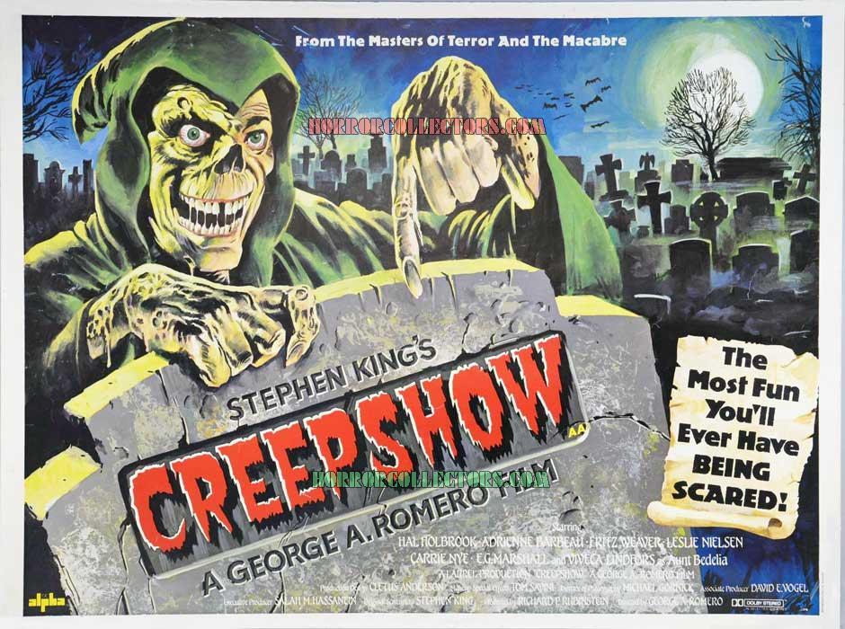 Creepshow British Quad Poster