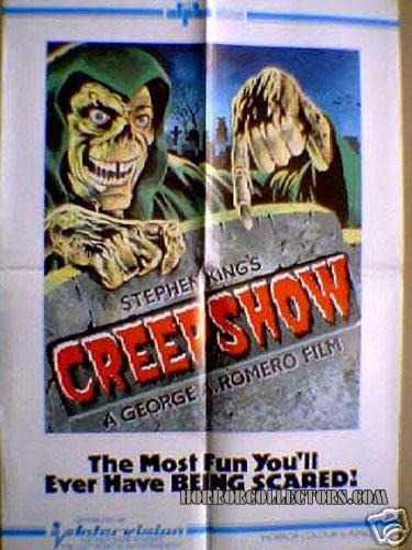 CREEPSHOW UK INTERVISION VIDEO RELEASE POSTER