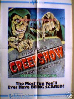 Creepshow Intervision Video Poster