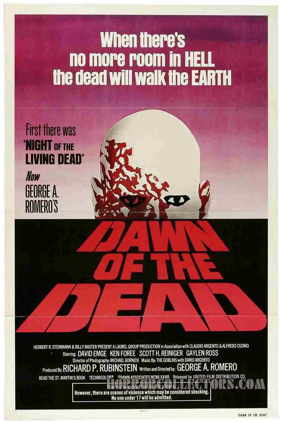 Dawn of the Dead USA One Sheet Poster