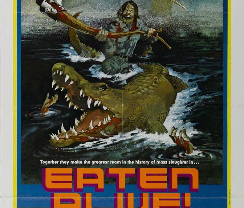 Eaten Alive USA one sheet poster