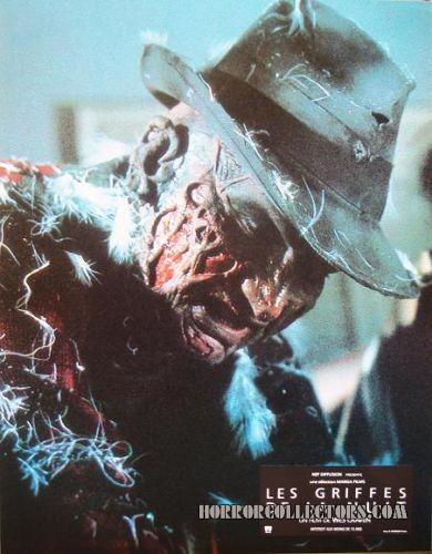 A NIGHTMARE ON ELM STREET FRENCH LOBBY CARDS