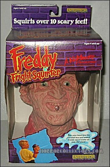 A Nightmare on Elm Street Freddy Fright Squirter EnterTech Krueger toy water blaster