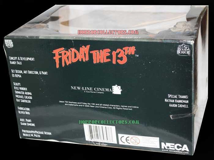 friday the 13th neca 25 anniversary box setck