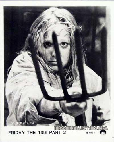 Friday the 13th Part 2 USA Paramount Pictures Publicity Stills