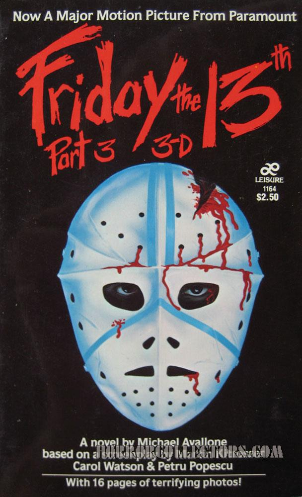 Friday the 13th Part 3 3D Book Paramount Pictures