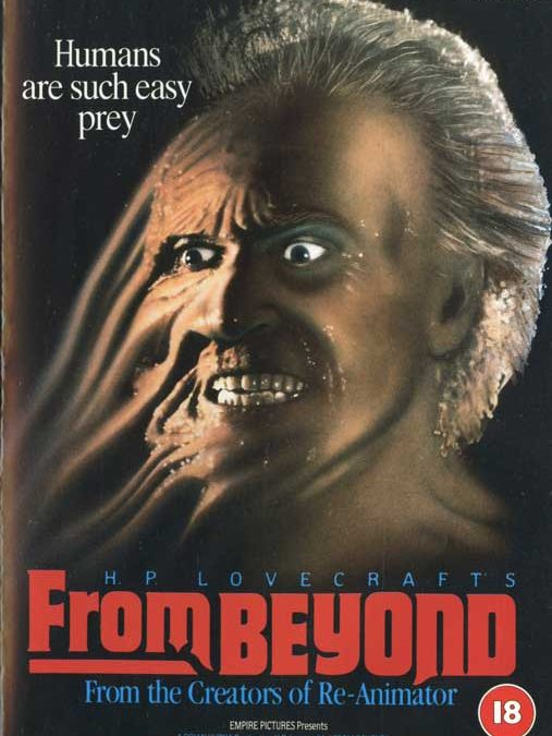 from-beyond-uk-vestron-video front horror- collectors