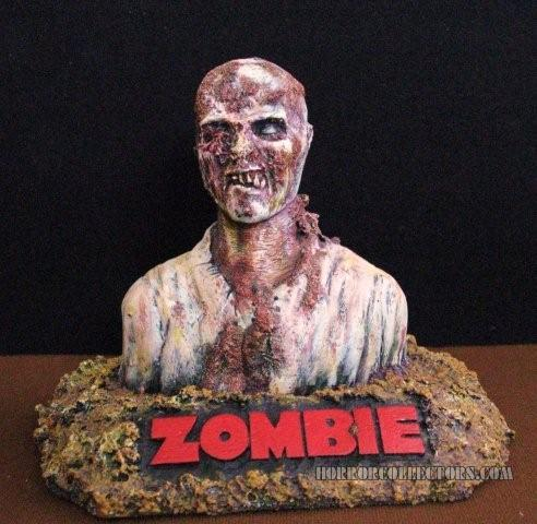 ZOMBIE RESIN MODEL KIT KDM PRODUCTIONS SCULPTURE BY WILLIAM PAQUET