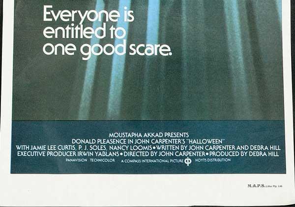 Halloween Australian Daybill Poster 3