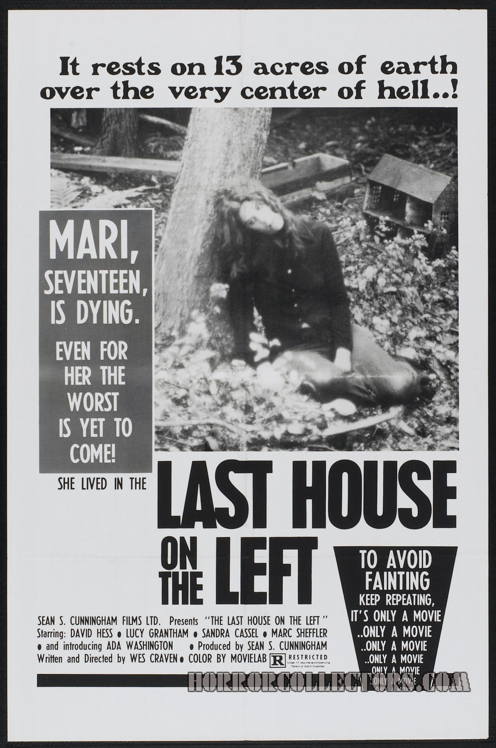 Last House on the Left USA One Sheet Poster