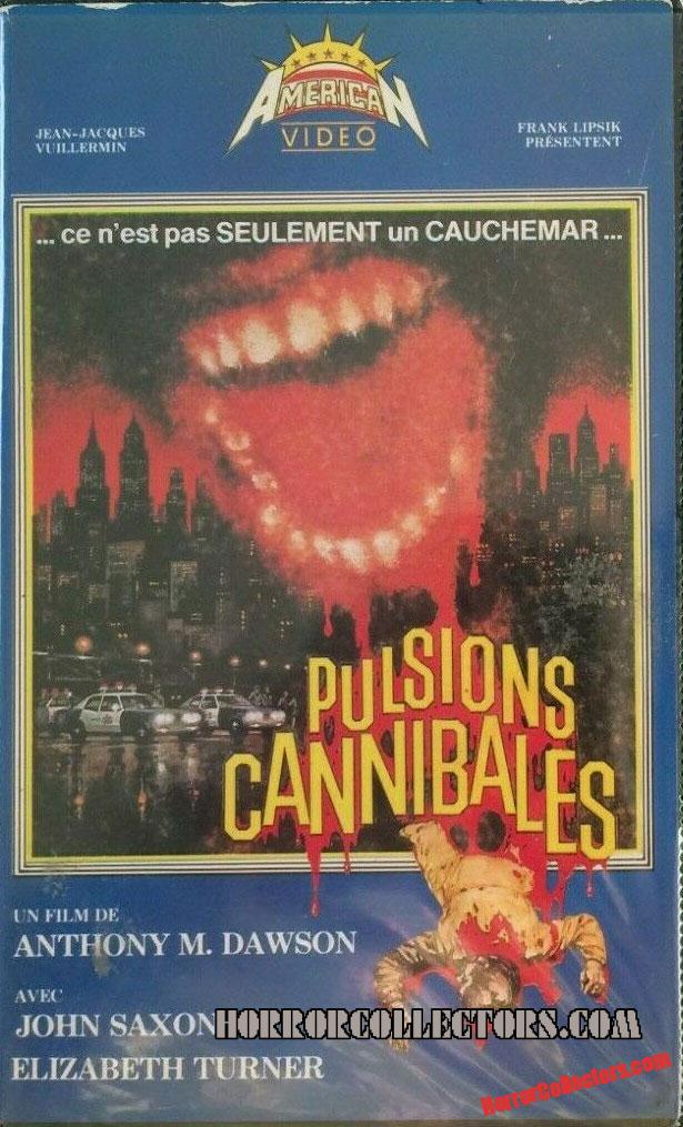 Cannibal Apocalypse French release Pulsions Cannibales American Video