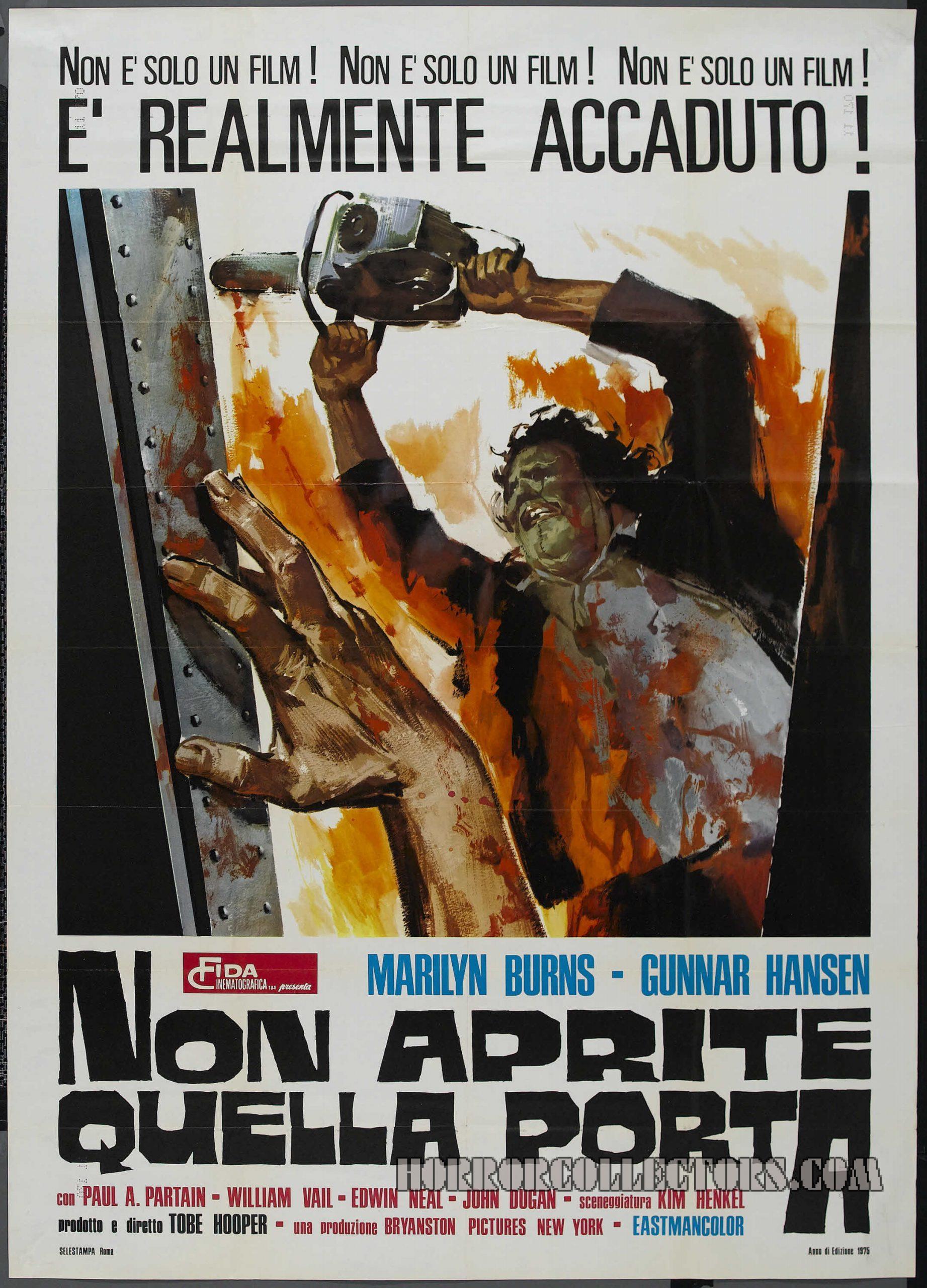 Non Aprite Quella Porta Italian Poster 2 Foglio