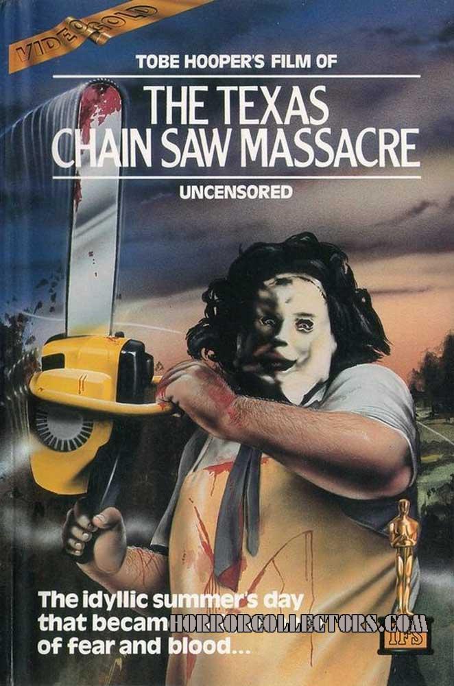 The Texas Chainsaw Massacre UK Pre Cert IFS Video Gold series