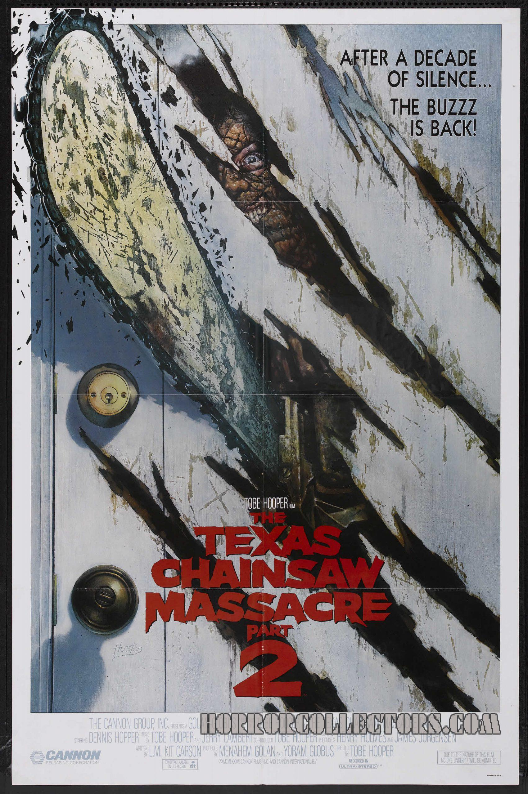 Texas Chainsaw Massacre US One Sheet Poster Style B