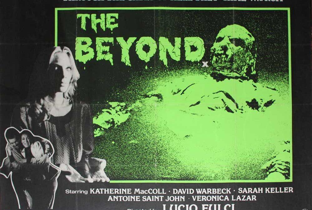 The Beyond british quad poster lucio fulci