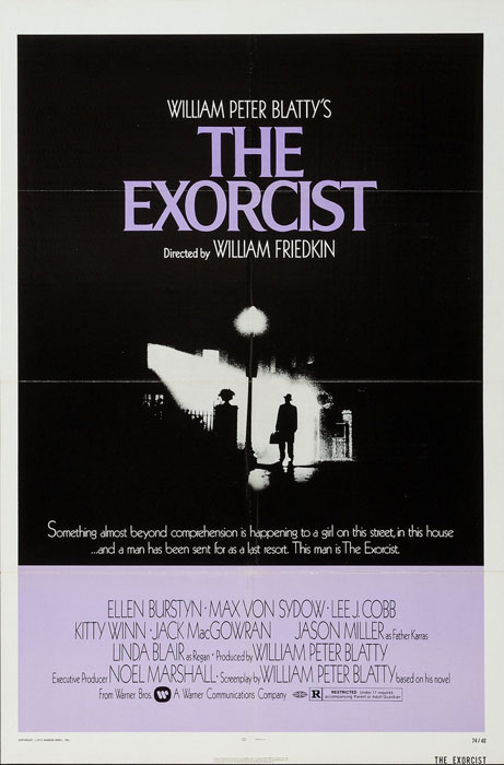 The Exorcist US Warner One Sheet Poster