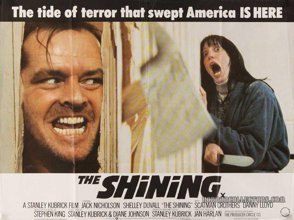 The Shining British Quad Poster