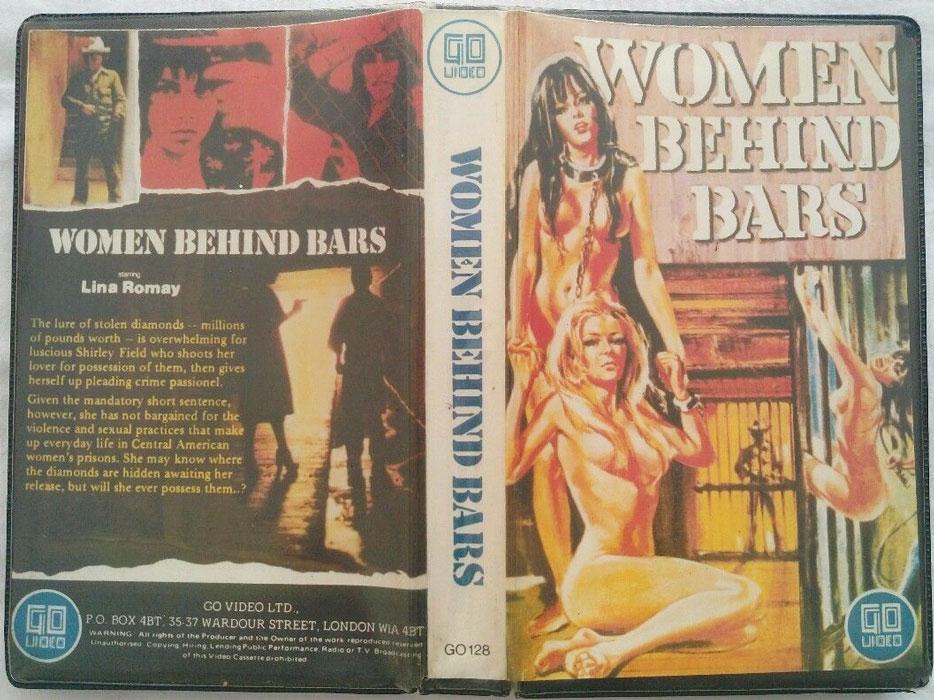 Women Behind Bars UK Go Video Pre Cert VHS Video sleeve