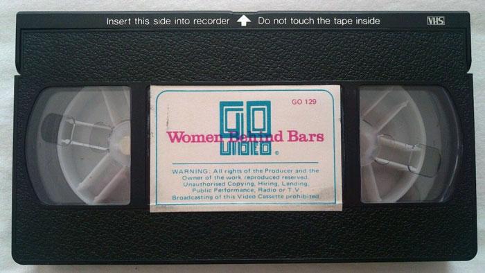 Women Behind Bars UK Go Video Pre Cert VHS Video tape