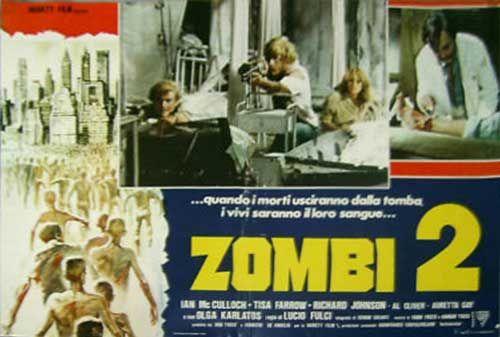 Zombi 2 Italian Fotobusta poster 05