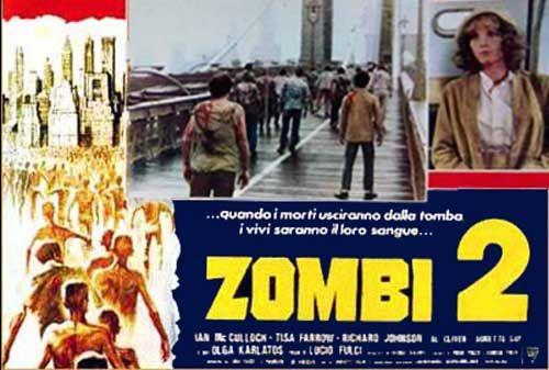 Zombi 2 Italian Fotobusta poster set