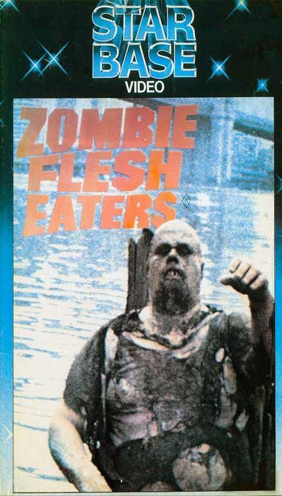 ZOMBIE FLESH EATERS AUSTRALIAN STARBASE VHS VIDEO