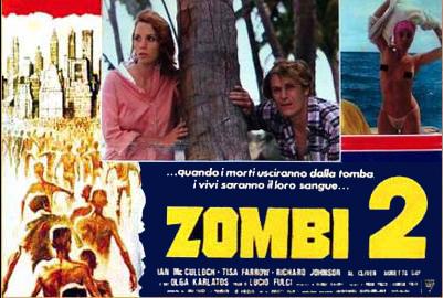 Zombi 2 Italian Fotobusta poster 02