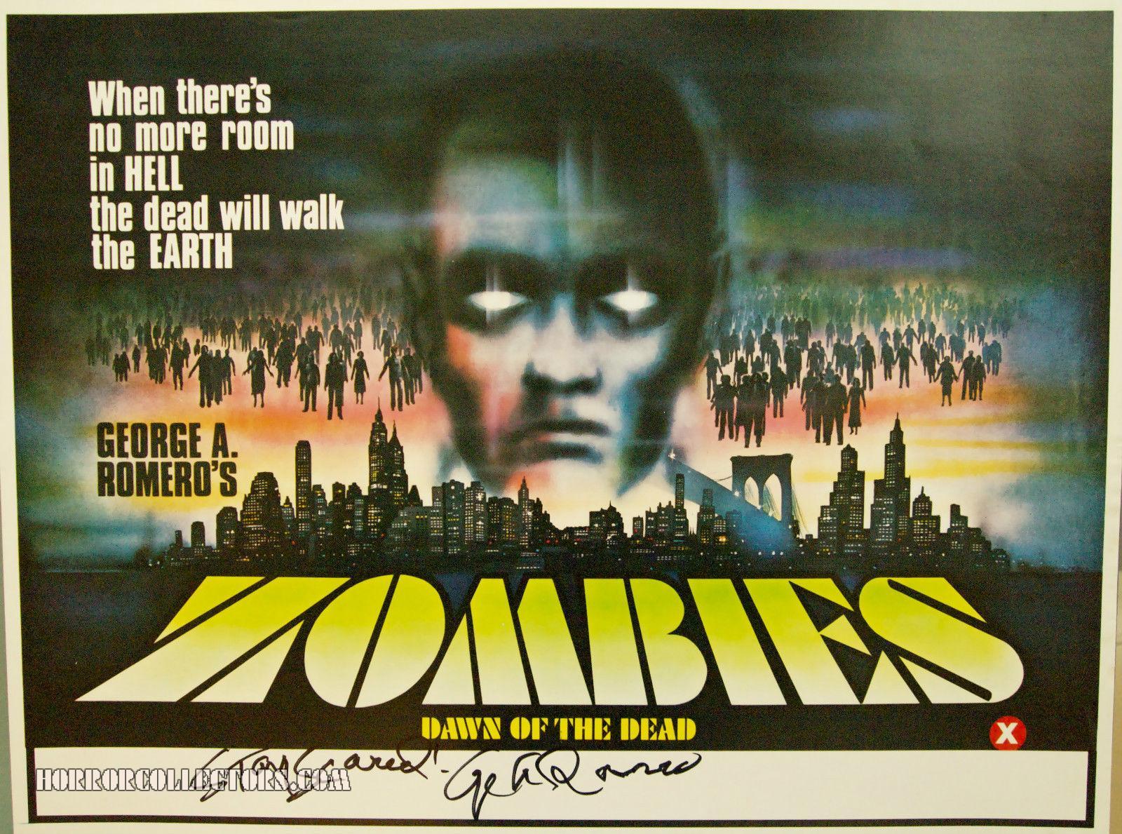 Dawn of the Dead – Zombies – UK Target International Mini Quad poster